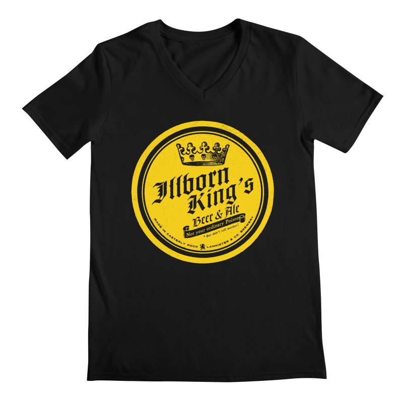 Not your ordinary Poison Men's Regular V-Neck by Victor Calahan