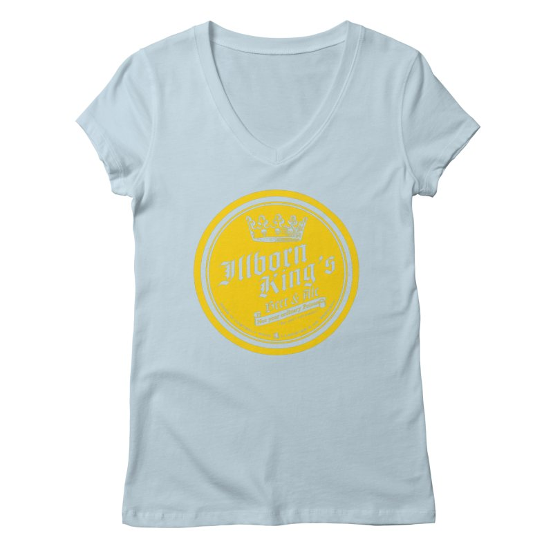 Not your ordinary Poison Women's Regular V-Neck by Victor Calahan