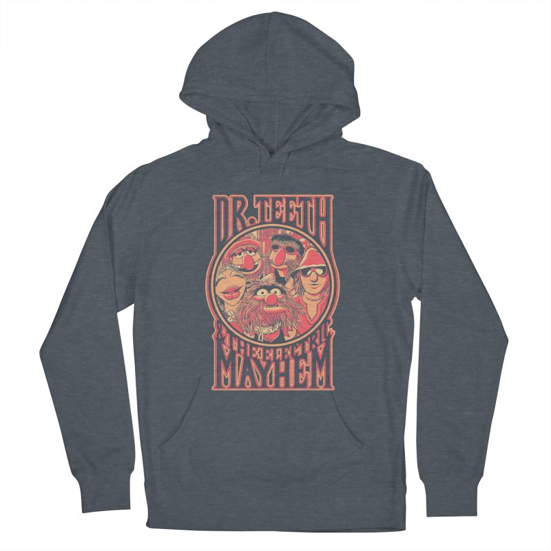 Electric Mayhem Men's Pullover Hoody by Victor Calahan