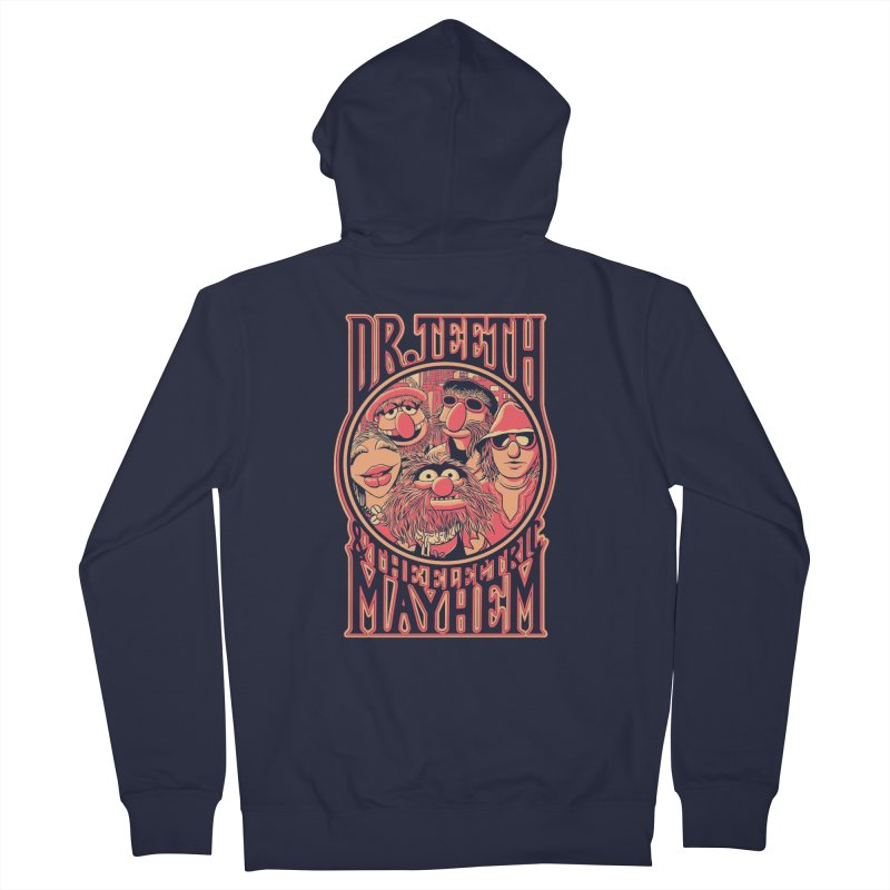 Electric Mayhem Women's Zip-Up Hoody by Victor Calahan