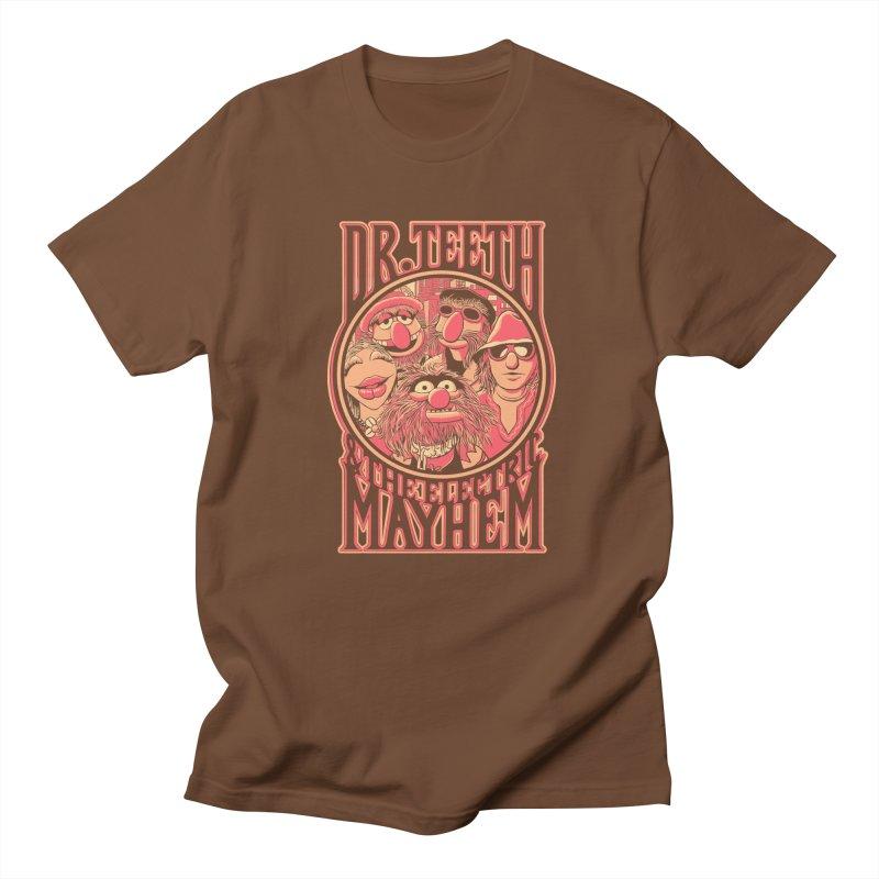 Electric Mayhem Men's T-shirt by Victor Calahan
