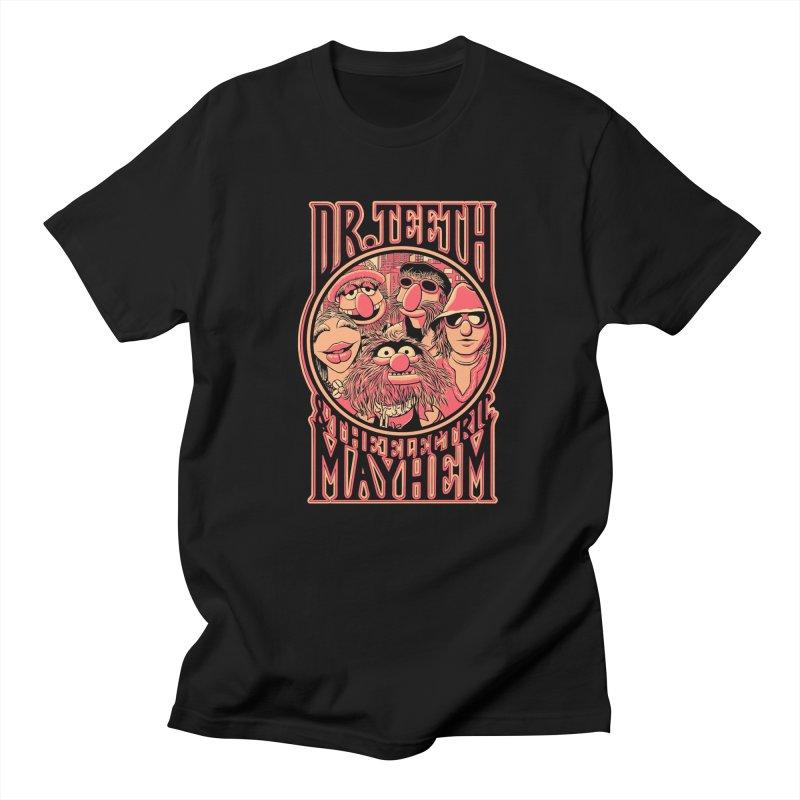 Electric Mayhem Women's Unisex T-Shirt by Victor Calahan