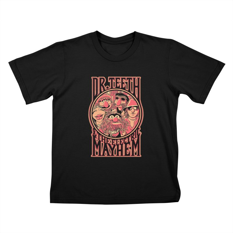 Electric Mayhem Kids T-shirt by Victor Calahan