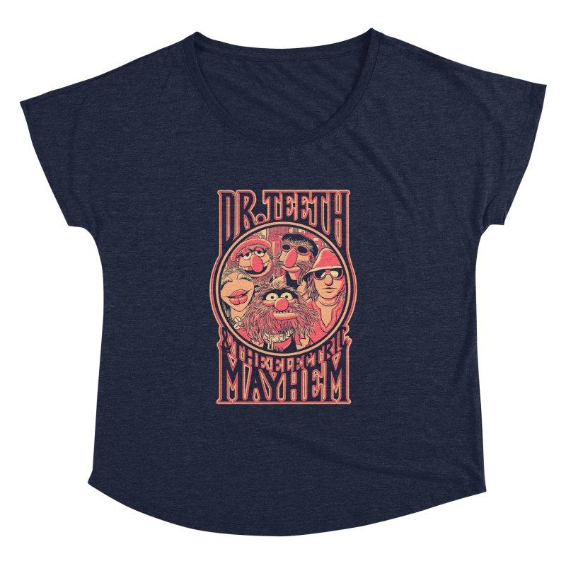 Electric Mayhem Women's Dolman by Victor Calahan