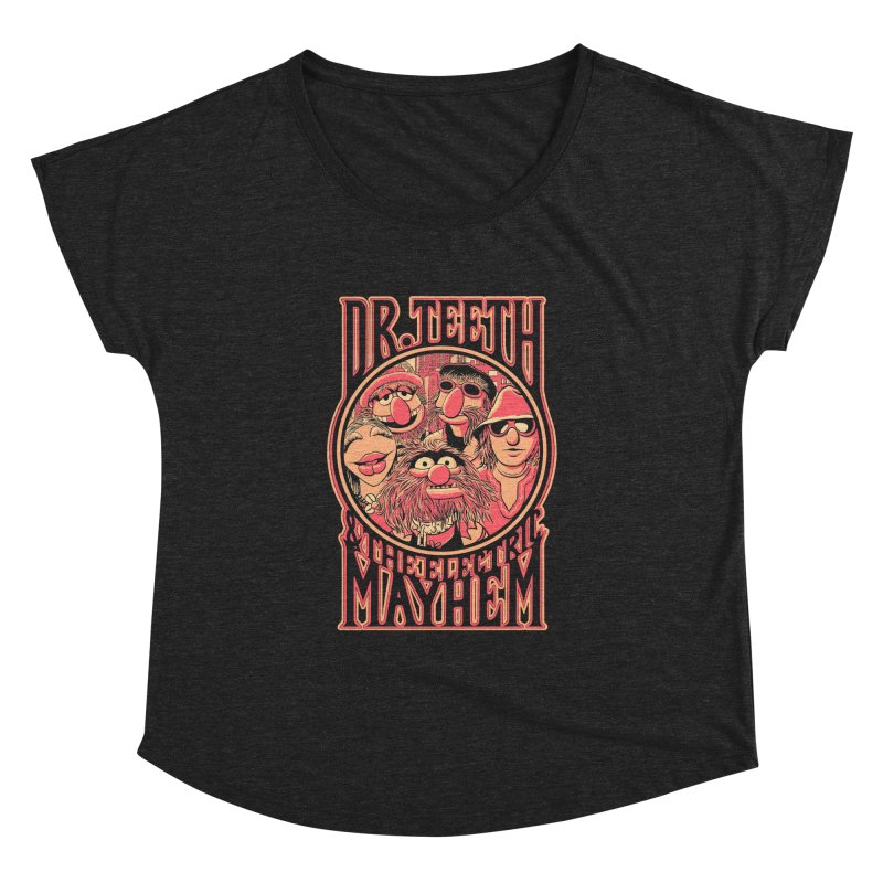 Electric Mayhem Women's Dolman by Victor Calahan
