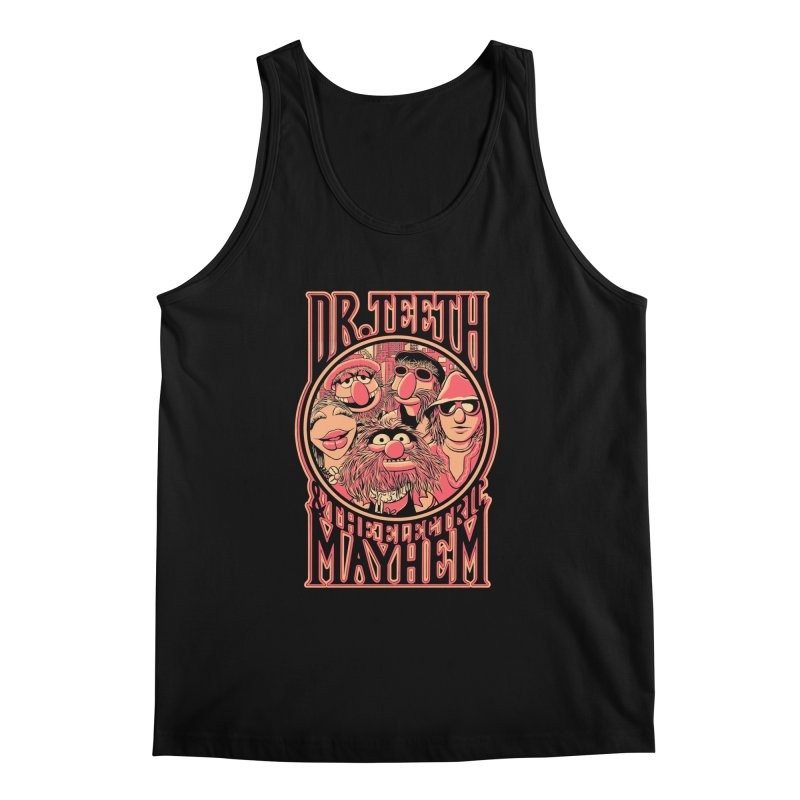Electric Mayhem Men's Tank by Victor Calahan