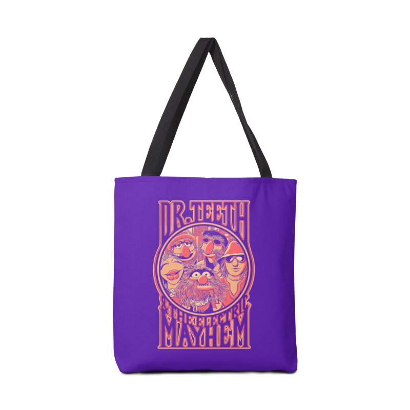 Electric Mayhem Accessories Bag by Victor Calahan
