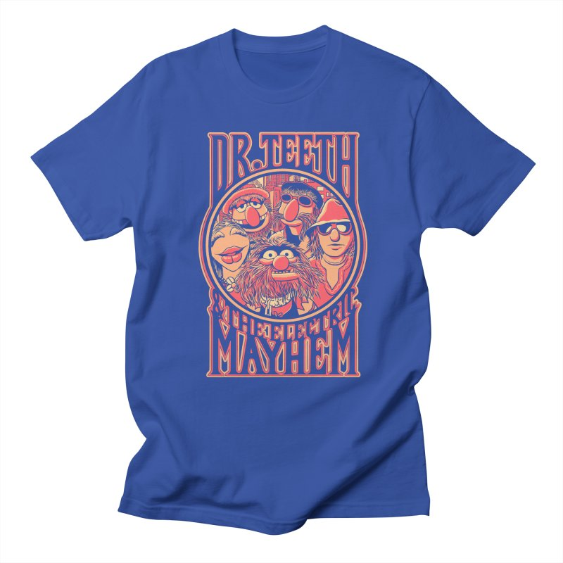Electric Mayhem Men's T-Shirt by Victor Calahan