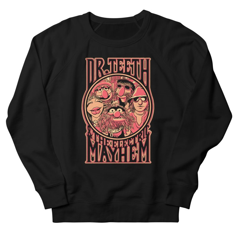 Electric Mayhem Women's Sweatshirt by Victor Calahan