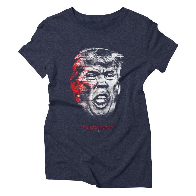 Ignorance Women's Triblend T-shirt by Victor Calahan