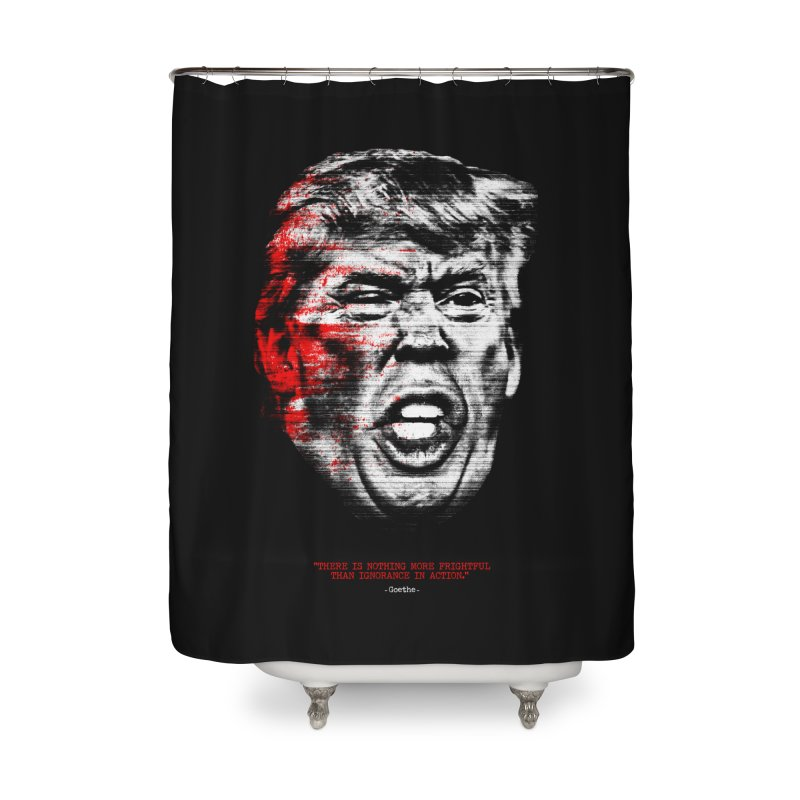 Ignorance Home Shower Curtain by Victor Calahan