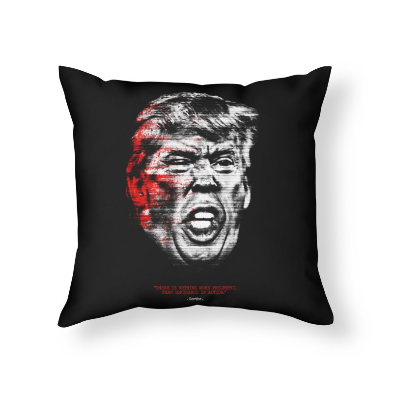Ignorance Home Throw Pillow by Victor Calahan