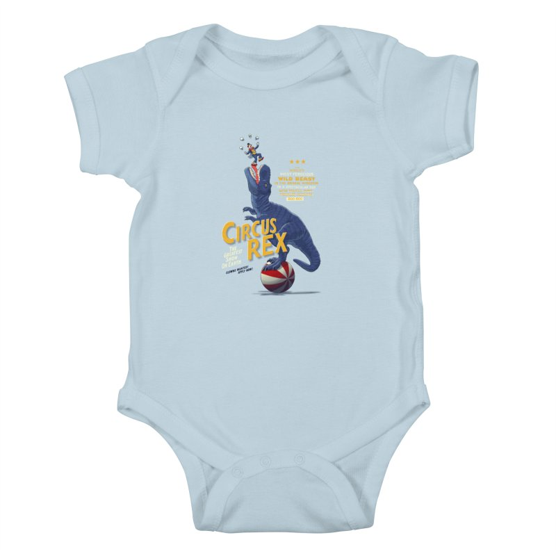 RISKY BUSINESS Kids Baby Bodysuit by Victor Calahan