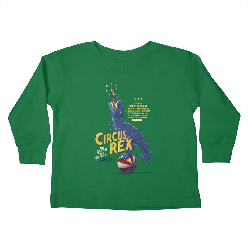 RISKY BUSINESS Kids Toddler Longsleeve T-Shirt by Victor Calahan