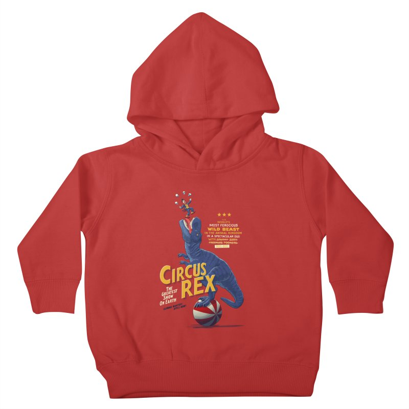RISKY BUSINESS Kids Toddler Pullover Hoody by Victor Calahan