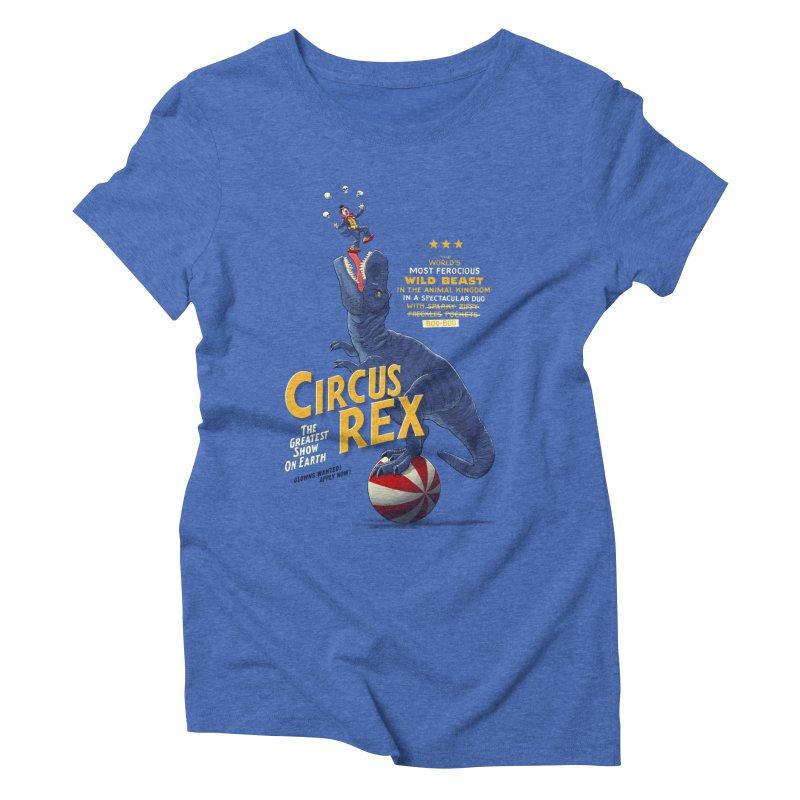 RISKY BUSINESS Women's Triblend T-shirt by Victor Calahan