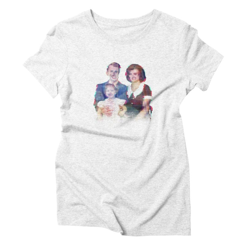 We're A Happy Family Women's Triblend T-shirt by Victor Calahan