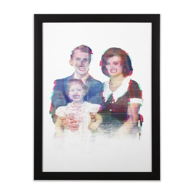 We're A Happy Family Home Framed Fine Art Print by Victor Calahan