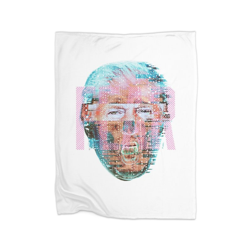 The Fearmonger Home Fleece Blanket by Victor Calahan