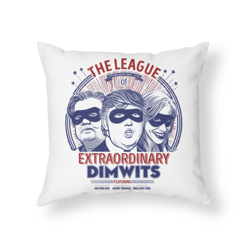 Extraordinary Dimwits Home Throw Pillow by Victor Calahan