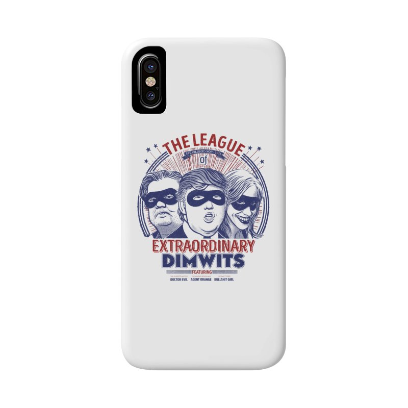 Extraordinary Dimwits Accessories Phone Case by Victor Calahan