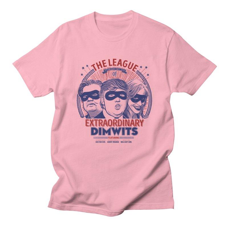 Extraordinary Dimwits Men's T-shirt by Victor Calahan