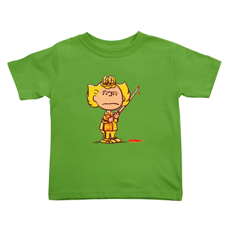 Kiddo Kids Toddler T-Shirt by Victor Calahan