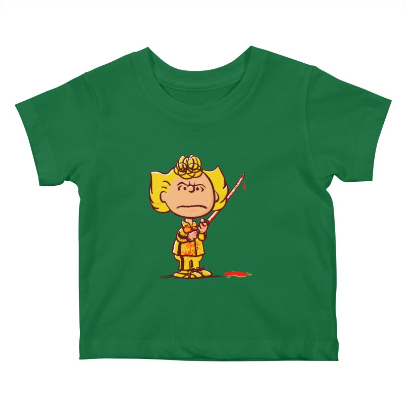 Kiddo Kids Baby T-Shirt by Victor Calahan