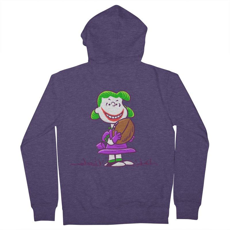 Joker Men's Zip-Up Hoody by Victor Calahan