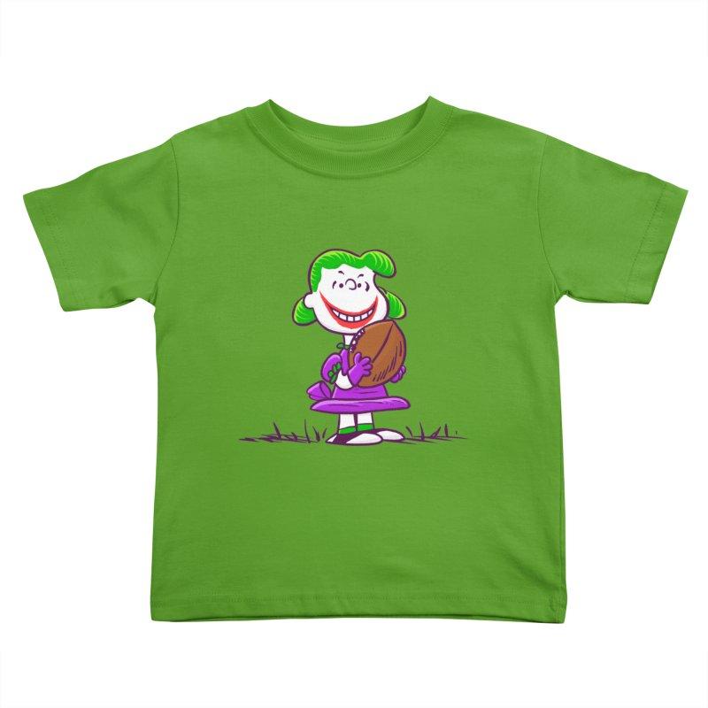 Joker Kids Toddler T-Shirt by Victor Calahan