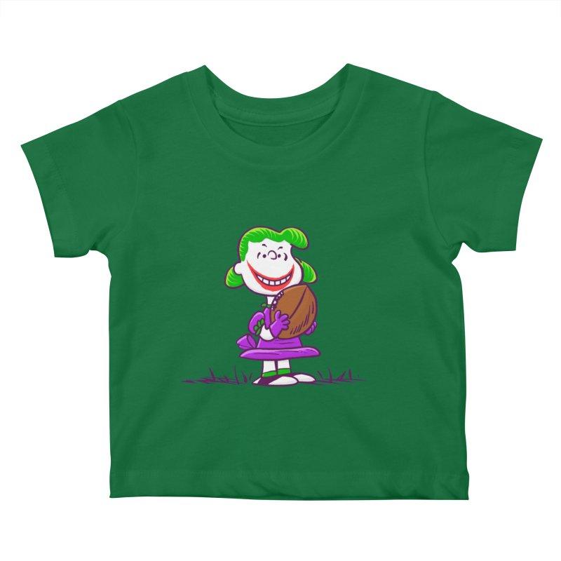 Joker Kids Baby T-Shirt by Victor Calahan