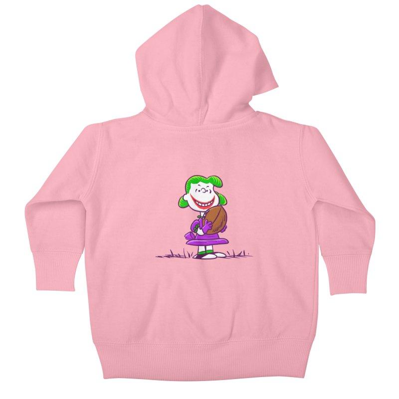 Joker Kids Baby Zip-Up Hoody by Victor Calahan