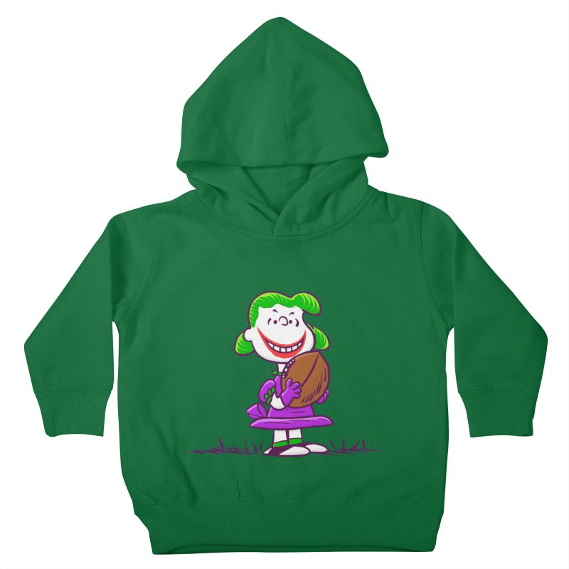 Joker Kids Toddler Pullover Hoody by Victor Calahan