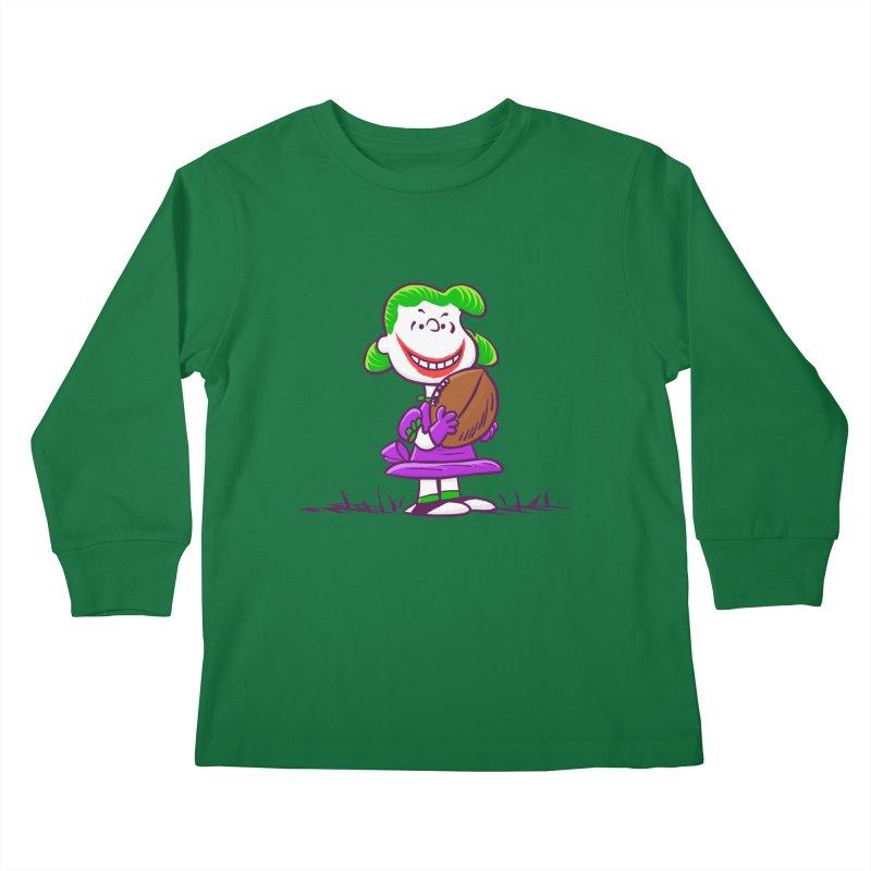 Joker Kids Longsleeve T-Shirt by Victor Calahan
