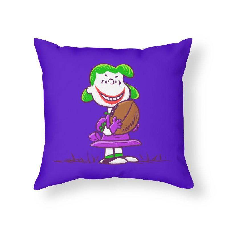 Joker Home Throw Pillow by Victor Calahan