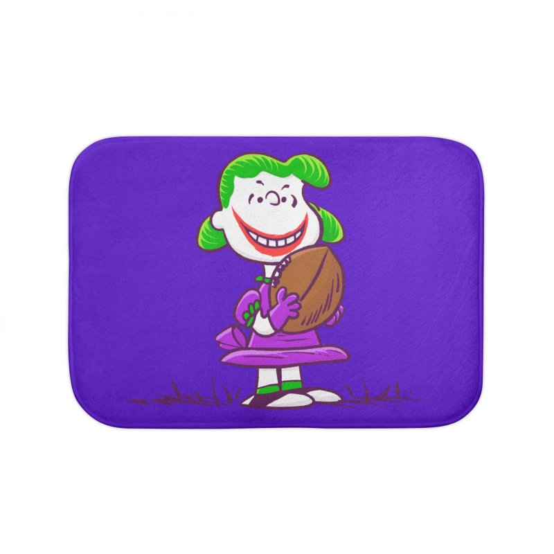 Joker Home Bath Mat by Victor Calahan