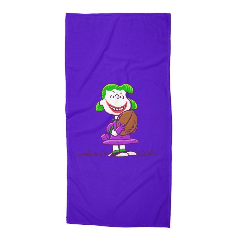 Joker Accessories Beach Towel by Victor Calahan
