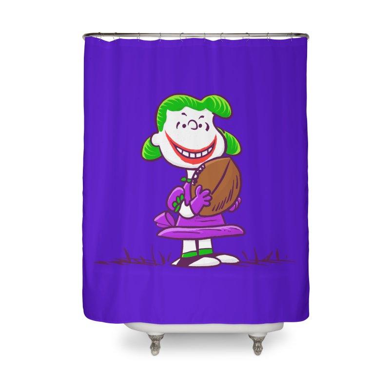 Joker Home Shower Curtain by Victor Calahan