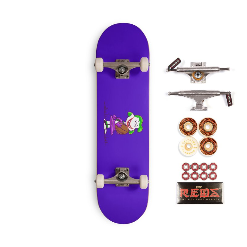 Joker Accessories Skateboard by Victor Calahan