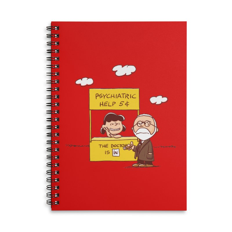 Doppelgänger Accessories Notebook by Victor Calahan