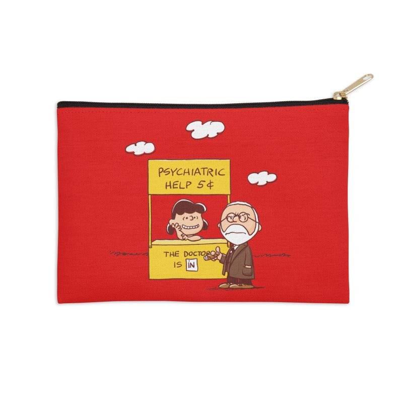 Doppelgänger Accessories Zip Pouch by Victor Calahan