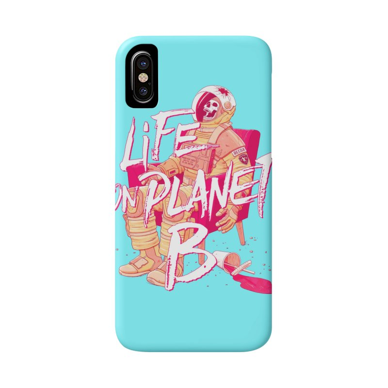 Life on Planet B Accessories Phone Case by Victor Calahan