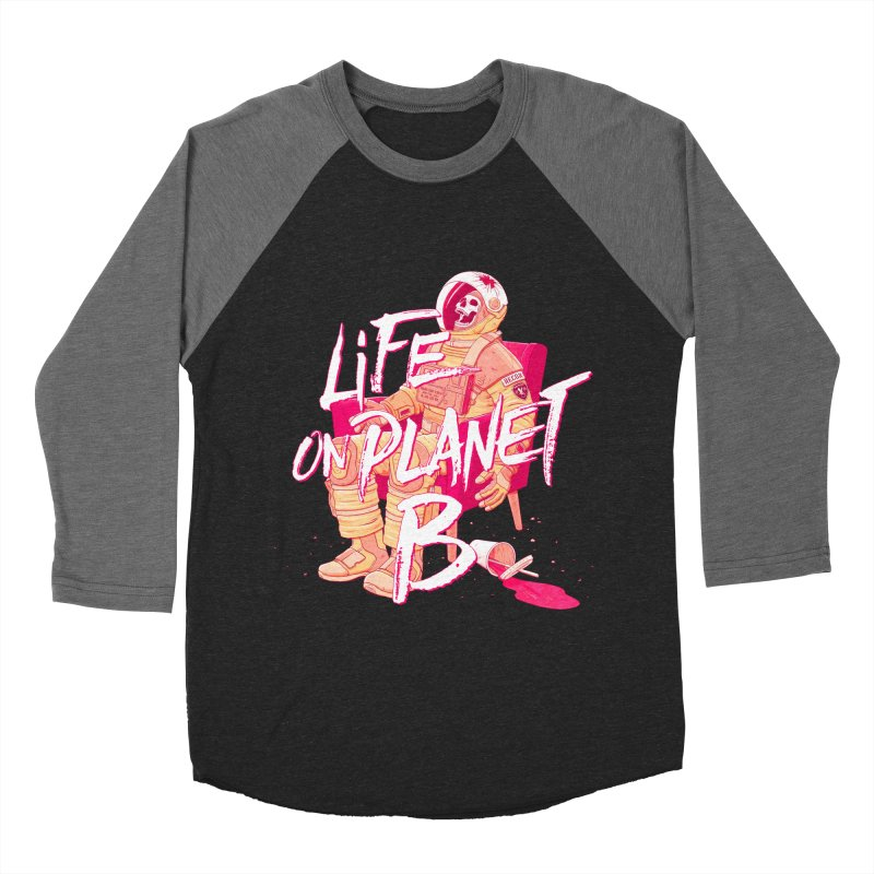 Life on Planet B Women's Baseball Triblend T-Shirt by Victor Calahan
