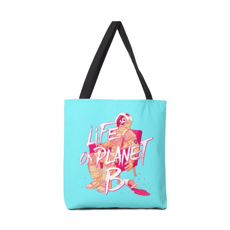 Life on Planet B Accessories Bag by Victor Calahan