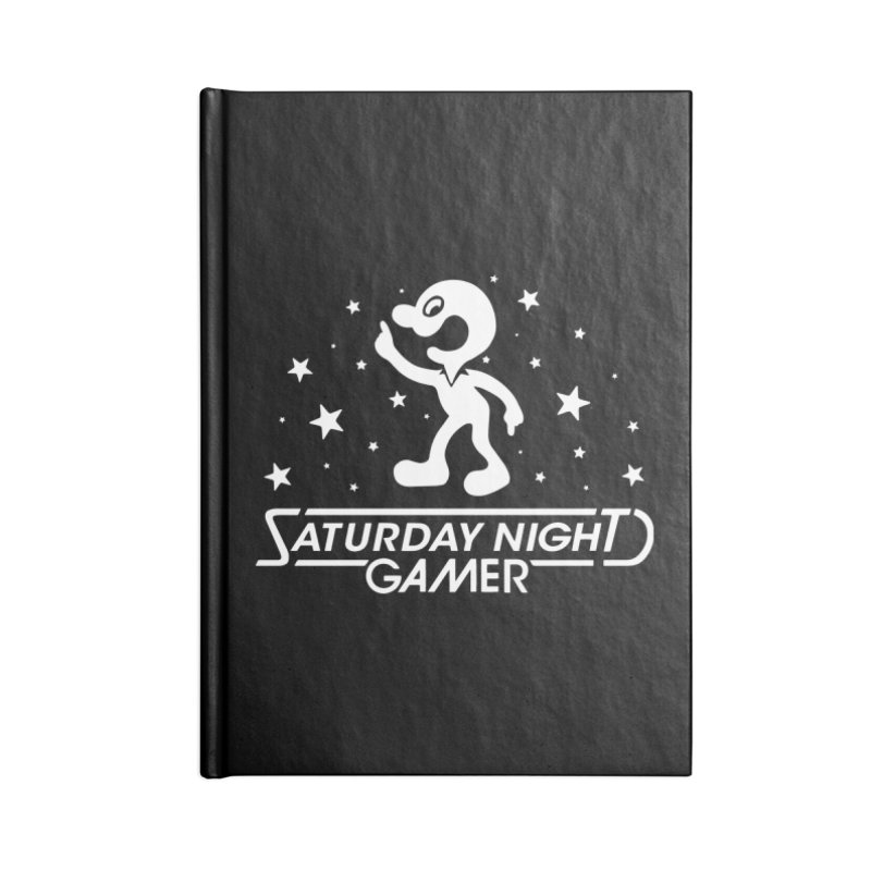 Saturday Night Gamer Accessories Notebook by Victor Calahan