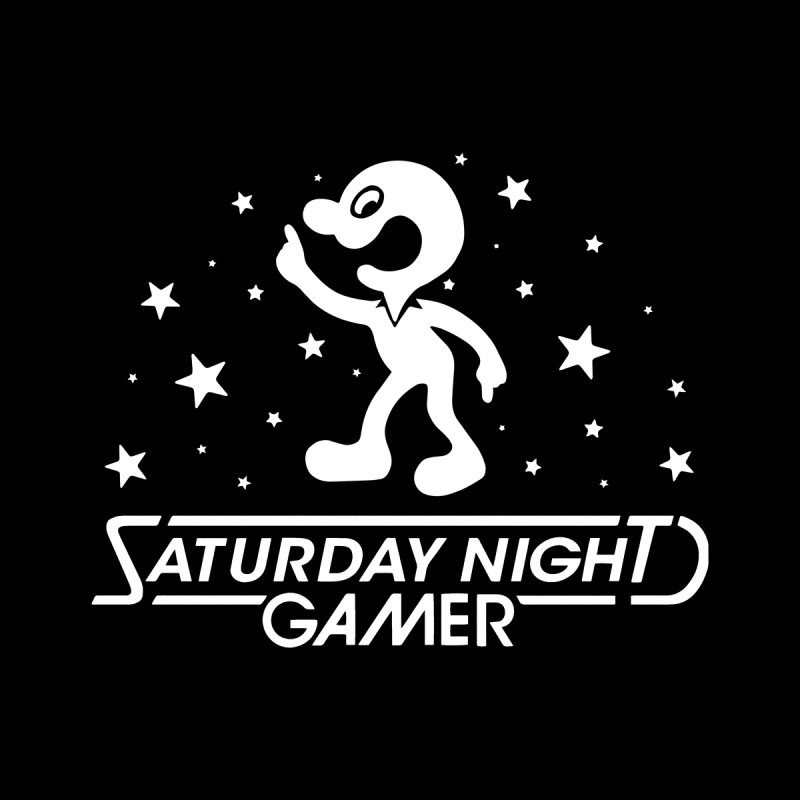 Saturday Night Gamer by Victor Calahan
