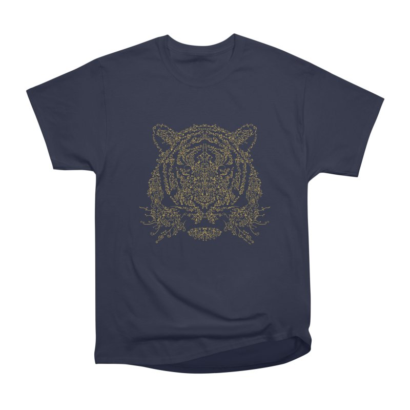 Ornamental Tiger Women's Classic Unisex T-Shirt by Victor Calahan