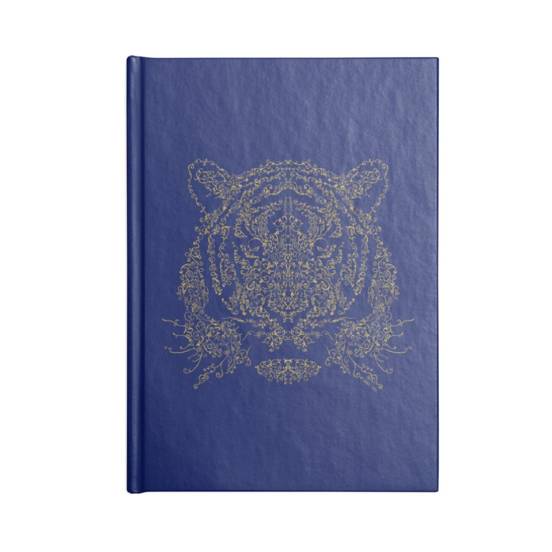 Ornamental Tiger Accessories Notebook by Victor Calahan