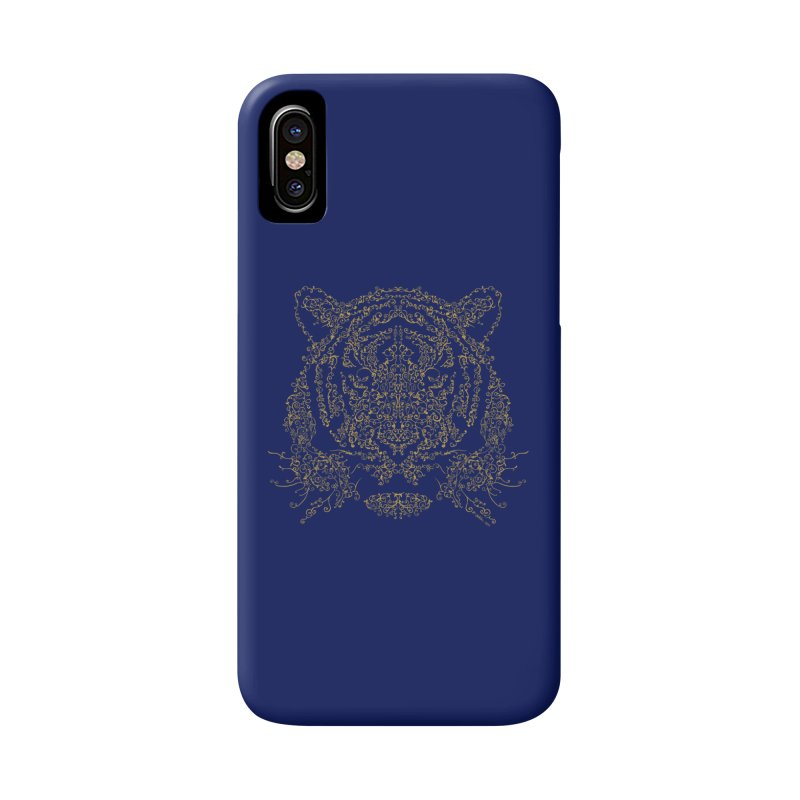 Ornamental Tiger Accessories Phone Case by Victor Calahan
