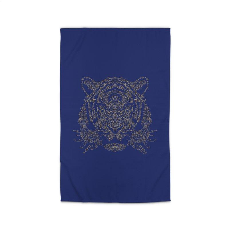 Ornamental Tiger Home Rug by Victor Calahan